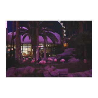 Flamingos, canvas de Las Vegas #2