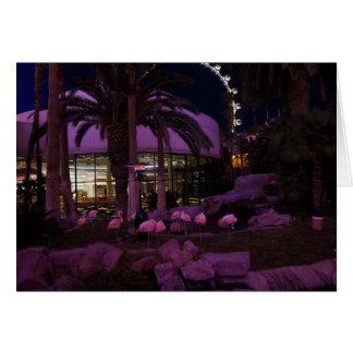 Flamingos, cartão de Las Vegas #2