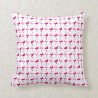 Flamingos cor-de-rosa almofada