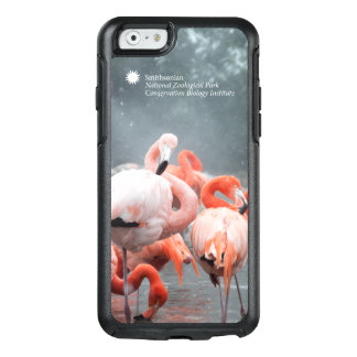 Flamingos de Smithsonian | na neve