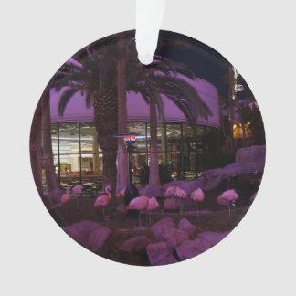Flamingos, ornamento de Las Vegas #2