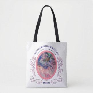 Flamingos pelo bolsa dois do mar