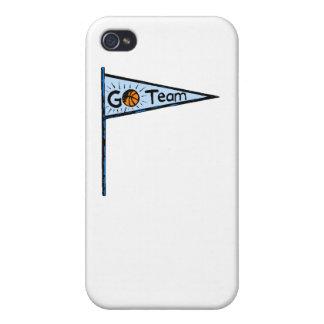 Flâmula do basquetebol capas iPhone 4