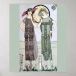 Flappers do 1920 impressão