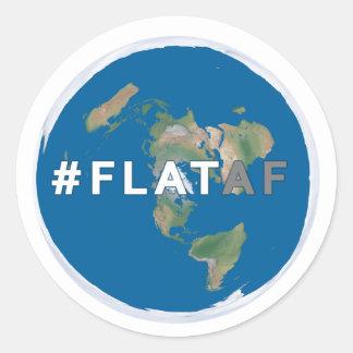 #flataf liso da etiqueta   da terra