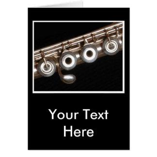 Flauta Cartão