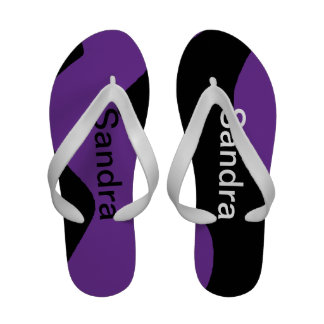 flip-flop customizável personalizado do abstrato d