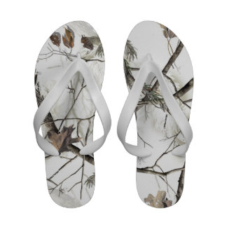 Flip-flops brancos da árvore
