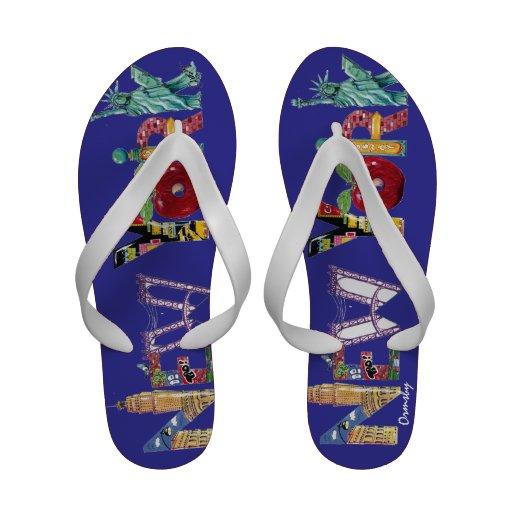 Flip-flops da Nova Iorque
