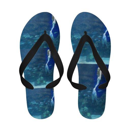 Flip-flops da sandália das sereias