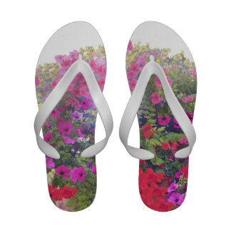 Flip-flops das palmas e das flores