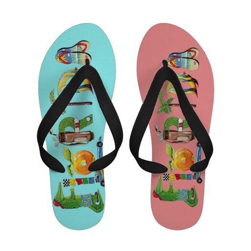 Flip-flops de Florida