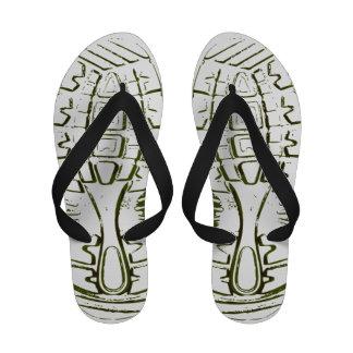 flip-flops do Calçado-impressão - mulheres - 1