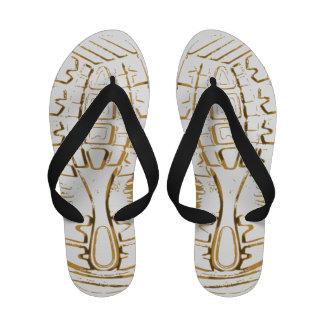 flip-flops do Calçado-impressão - mulheres - 3