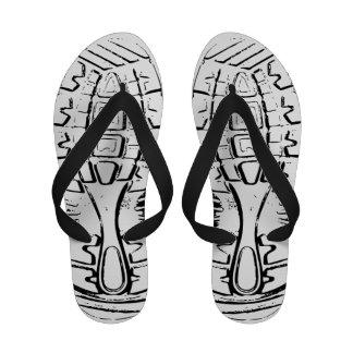 flip-flops do Calçado-impressão - mulheres - 4