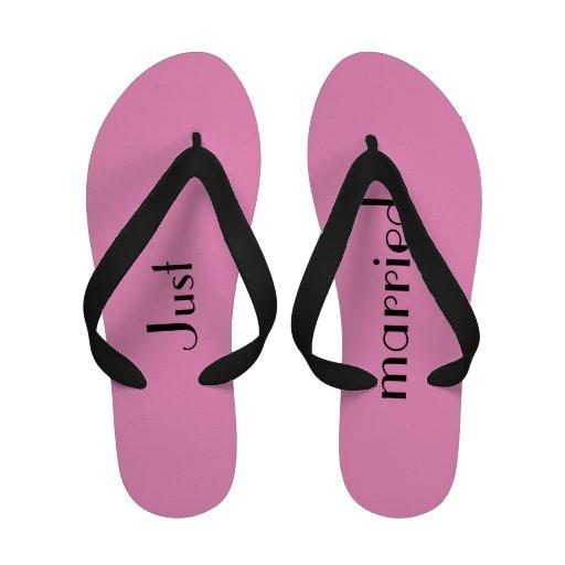 Flip-flops do casamento