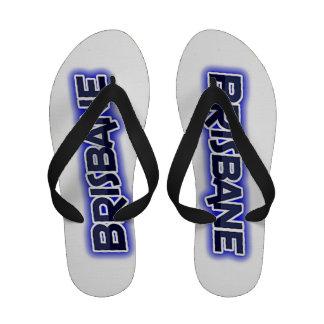 Flip-flops do design de texto de Brisbane