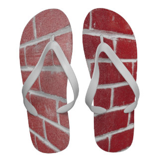 Flip-flops do Vermelho-Tijolo