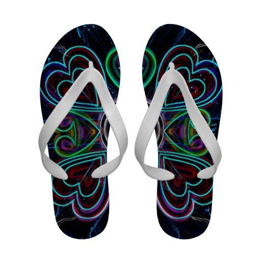 Flip-flops dos corações