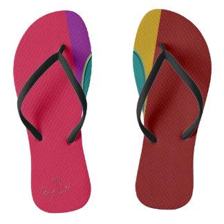 Flip-flops elásticos chinelos