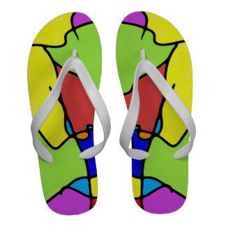 Flip-flops vibrantes