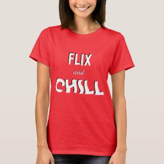 Flix e frio camiseta