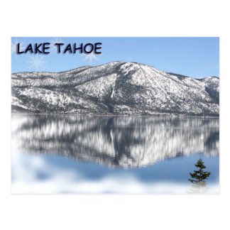 Floco de neve 1 de Lake Tahoe Cartão Postal
