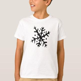 Floco de neve de flutuação 02 - nd camiseta