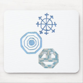 Floco de neve especial Mousepad
