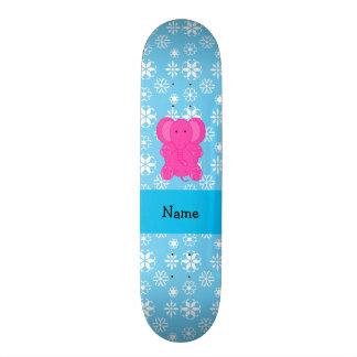 Flocos de neve conhecidos personalizados do azul d skate boards