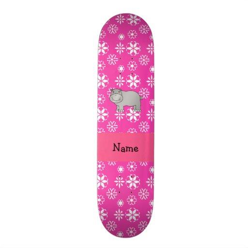 Flocos de neve conhecidos personalizados do rosa d skates