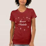 Flocos de neve de Buon Natale Camiseta