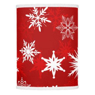 Flocos de neve festivos do Natal