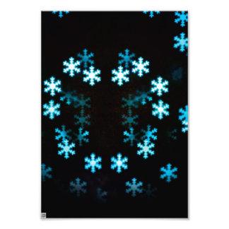 Flocos de neve mágicos do Natal Fotos