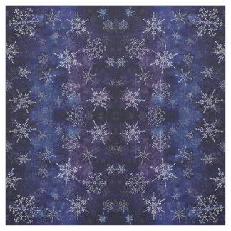 Flocos de neve, tecido