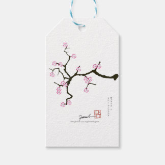 Flor 2 de Tony Fernandes Sakura Etiqueta Para Presente
