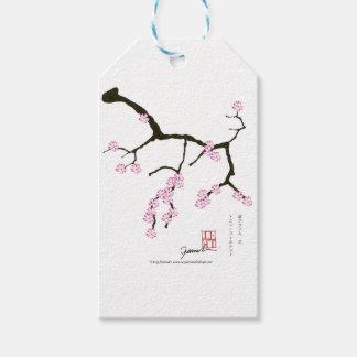 Flor 3 de Tony Fernandes Sakura Etiqueta Para Presente