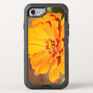 Flor alaranjada capa para iPhone 8/7 OtterBox defender