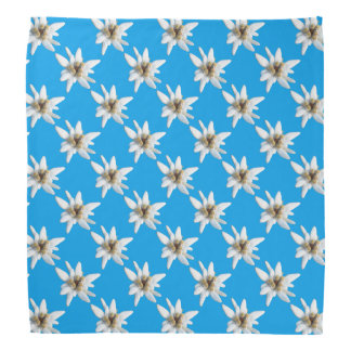 Flor alpina de Edelweiss Lenço