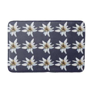 Flor alpina de Edelweiss Tapete De Banheiro