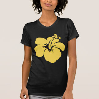 flor amarela 6 do hibiscus tshirts