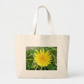 flor amarela bolsas para compras