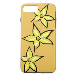 Flor amarela capa iPhone 7 plus