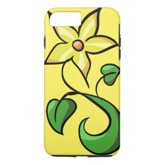 Flor amarela do primavera capa iPhone 7 plus
