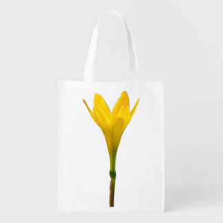 Flor amarela sacola ecológica