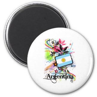 Flor Argentina Imãs De Refrigerador