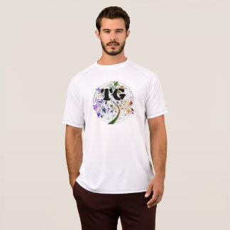 Flor ativa do TG da camisa do Dri dos homens do