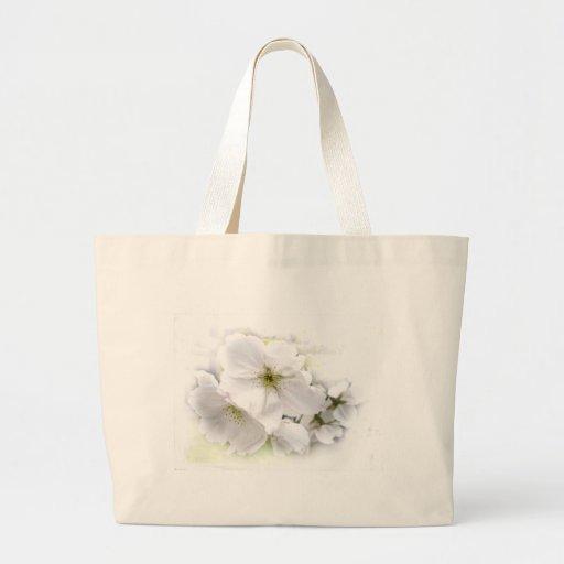 Flor branca Wedding Bolsa