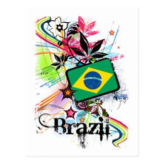 Flor Brasil Cartão Postal