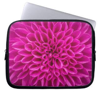 Flor cor-de-rosa capa para computador